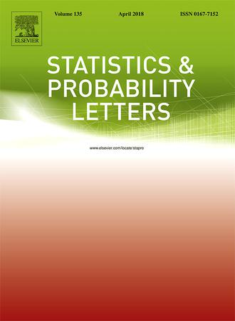 Statistics & Probability Letters template (Elsevier)