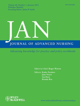 Journal of Advanced Nursing template (Wiley)