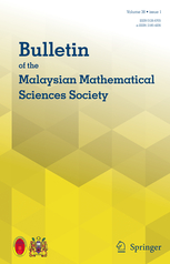 Bulletin of the Malaysian Mathematical Sciences Society template (Springer)