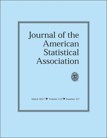 Journal of the American Statistical Association template (Taylor and Francis)