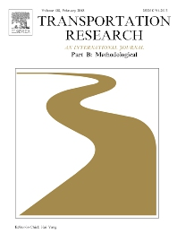 Transportation Research Part B: Methodological template (Elsevier)