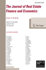 The Journal of Real Estate Finance and Economics template (Springer)