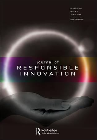Journal of Responsible Innovation template (Taylor and Francis)