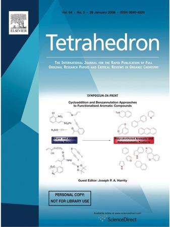 Tetrahedron template (Elsevier)