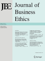 Journal of Business Ethics template (Springer)