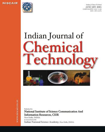 Indian Journal of Chemical Technology (IJCT) template (NISCAIR Publications)