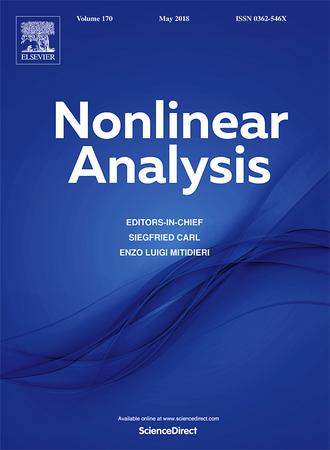 Nonlinear Analysis: Theory, Methods & Applications template ( Methods & Applications)