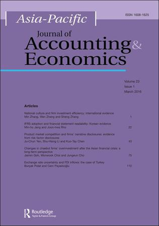 Asia-Pacific Journal of Accounting and Economics template (Taylor and Francis)