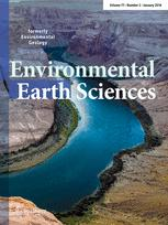 Environmental Earth Sciences template (Springer)