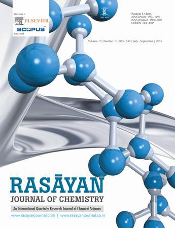 RASAYAN Journal of Chemistry template (RASAYAN Journal of Chemistry)