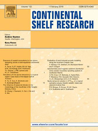 Continental Shelf Research template (Elsevier)