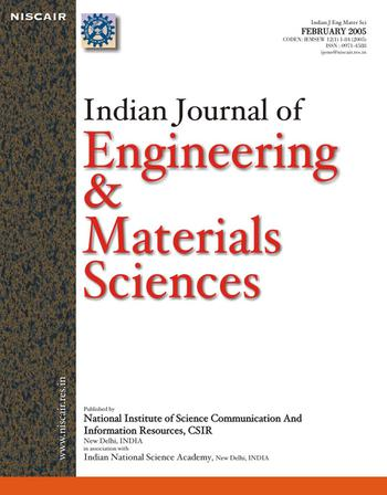Indian Journal of Engineering and Materials Sciences (IJEMS) template (NISCAIR Publications)
