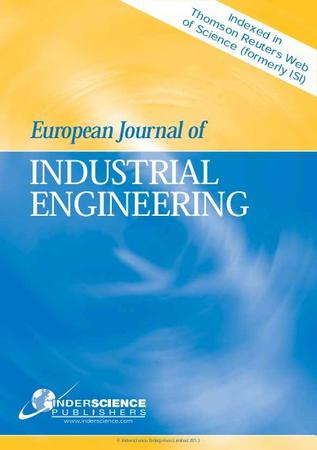 European Journal of Industrial Engineering template (Inderscience Publishers)