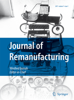 Journal of Remanufacturing template (Springer)