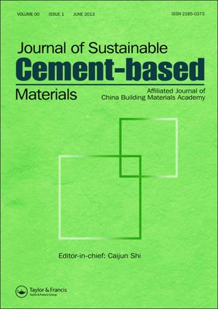 Journal of Sustainable Cement-Based Materials template (Taylor and Francis)