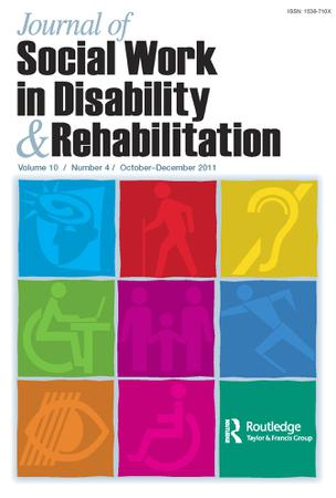 Journal of Social Work in Disability and Rehabilitation template (Taylor and Francis)