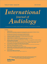 International Journal of Audiology template (Taylor and Francis)