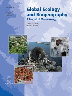 Global Ecology and Biogeography template (Wiley)