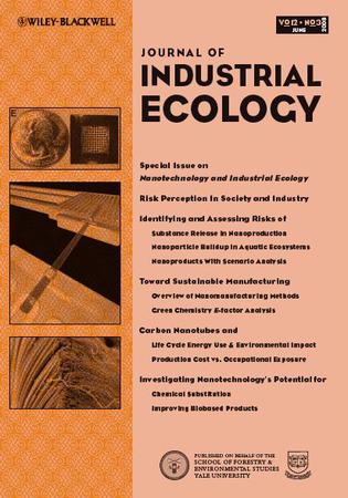 Journal of Industrial Ecology template (Wiley)