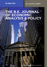 The B.E. Journal of Economic Analysis & Policy template (De Gruyter)