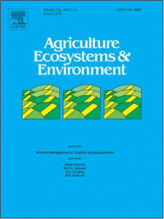 Agriculture, Ecosystems & Environment template ( Ecosystems & Environment)