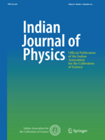 Indian Journal of Physics template (Springer)