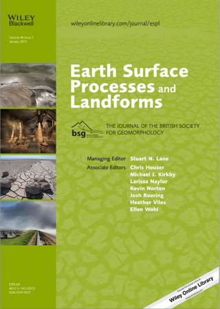 Earth Surface Processes and Landforms template (Wiley)