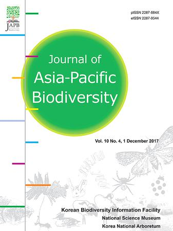 Journal of Asia-Pacific Biodiversity template (Elsevier)