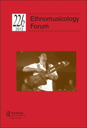Ethnomusicology Forum template (Taylor and Francis)