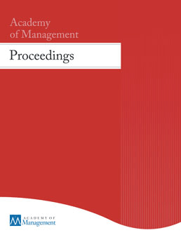 Academy of Management Proceedings template (Academy of Management)