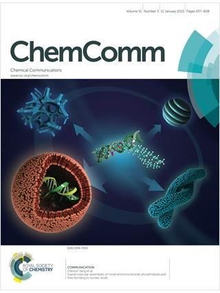 ChemComm template (Royal Society of Chemistry)
