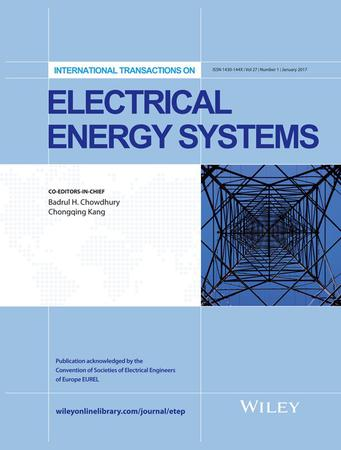 International Transactions on Electrical Energy Systems template (Wiley)