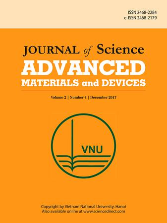 Journal of Science: Advanced Materials and Devices template (Elsevier)