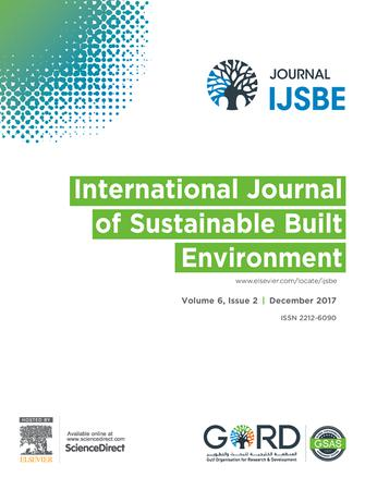 International Journal of Sustainable Built Environment template (Elsevier)