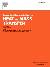 International Communications in Heat and Mass Transfer template (Elsevier)