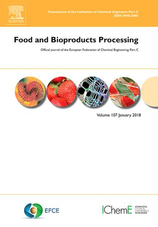 Food and Bioproducts Processing template (Elsevier)