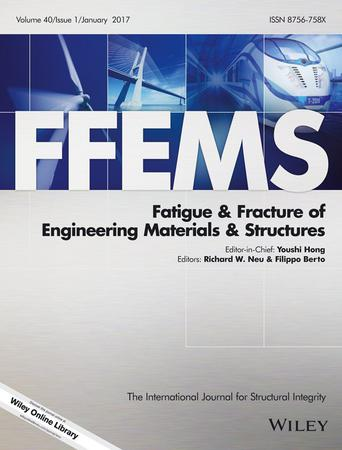 Fatigue & Fracture of Engineering Materials & Structures template (Wiley)
