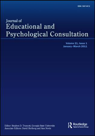 Journal of Educational and Psychological Consultation template (Taylor and Francis)