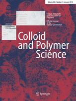 Colloid and Polymer Science template (Springer)