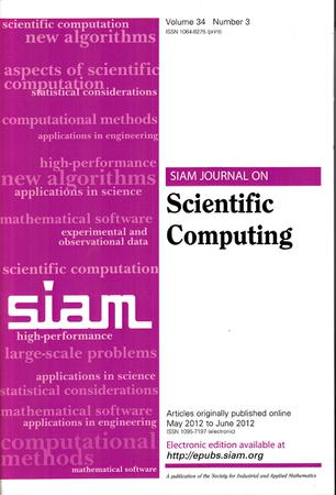 SIAM Journal on Scientific Computing template (Society for Industrial and Applied Mathematics)