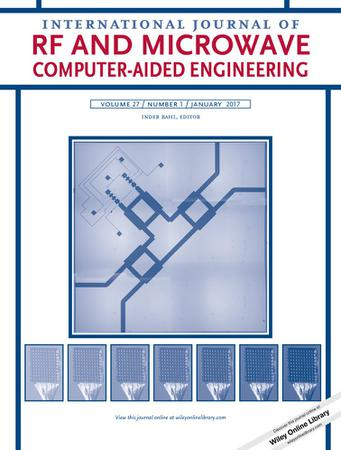 International Journal of RF and Microwave Computer-Aided Engineering template (Wiley)