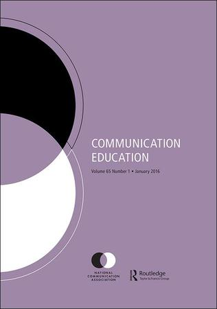 Communication Education template (Taylor and Francis)