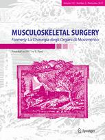 MUSCULOSKELETAL SURGERY template (Springer)