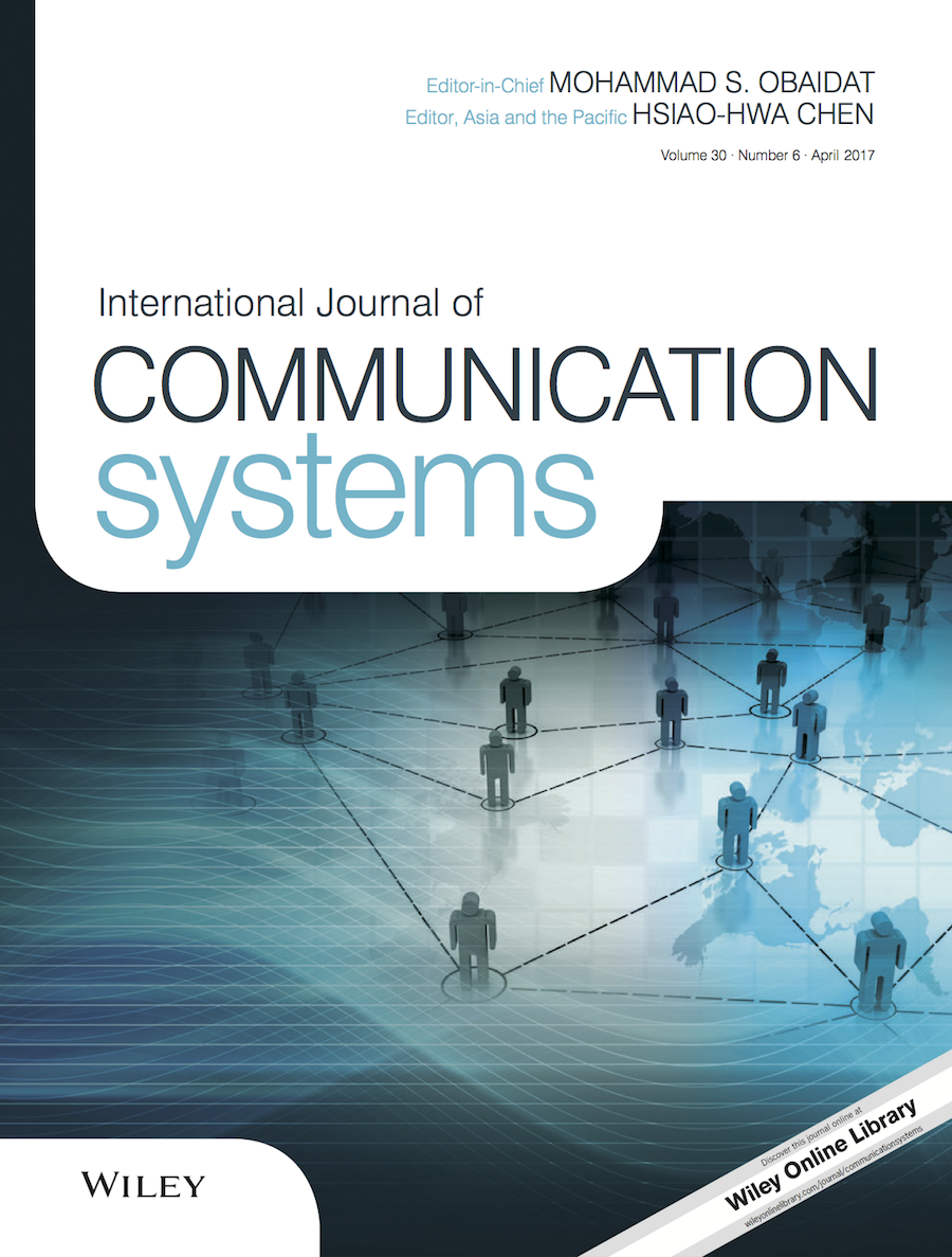 International Journal of Communication Systems template (Wiley)