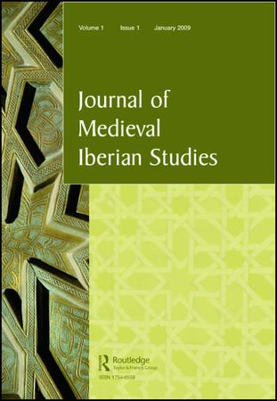 Journal of Medieval Iberian Studies template (Taylor and Francis)