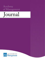 Academy of Management Journal template (Academy of Management)