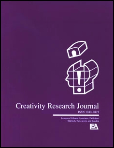 Creativity Research Journal template (Taylor and Francis)