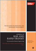 Proceedings of the Institution of Mechanical Engineers, Part F: Journal of Rail and Rapid Transit template ( Part F: Journal of Rail and Rapid Transit)