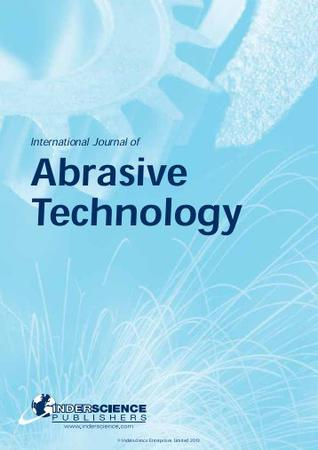 International Journal of Abrasive Technology template (Inderscience Publishers)