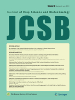 Journal of Crop Science and Biotechnology template (Springer)